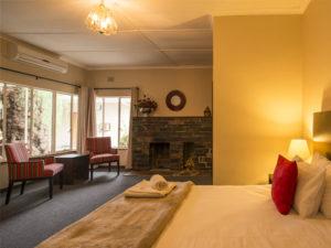 Calvinia hotel room